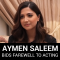 Aymen Saleem Bids Farewell to Acting