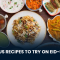 Delicious Recipes to Try on Eid-ul-Azha