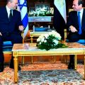 Israeli Prime Minister on First Official Trip to Egypt in 120x120