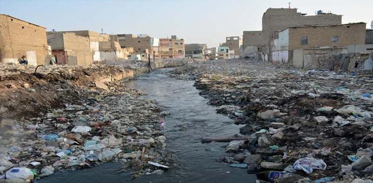 Orangi Town nullah drain cleaning