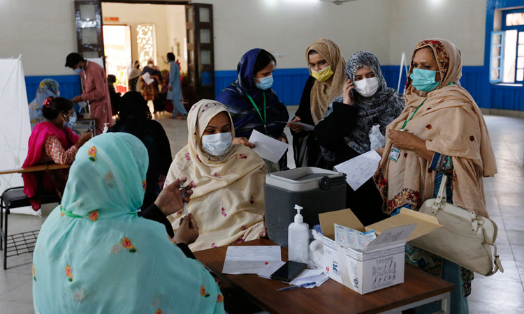 Vaccine teachersPakistan