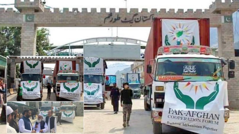 pakistan sends 13 truckloads of humanitarian aid to afghanistan 1632117519 9917 808x454